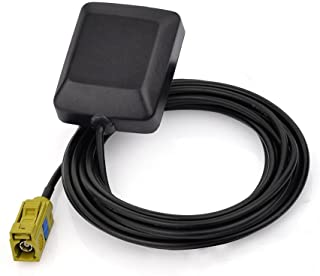 Eightwood Mini Satellite Radio Antenna Fakra K Curry Female Connector Compatible with Sirius XM Car Vehicle Trucks RV HD H...