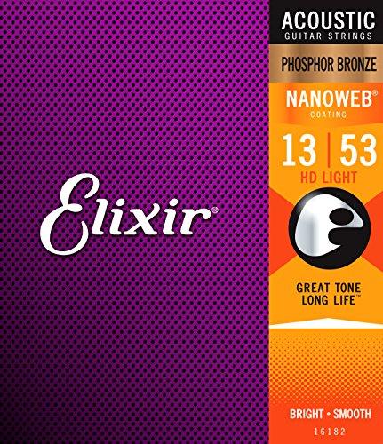Elixir Nanoweb Phosphor Bronze Saiten