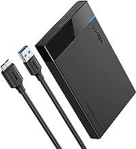 UGREEN USB 3.0 Boîtier Externe pour Disque Dur 2,5 Pouces SATA UASP Boîtier HDD SSD 5Gbps Capacité 6To Max Épaisseur 7mm 9,5mm Installation sans Outil Compatible avec PS4 PS3 Xbox PC Portable