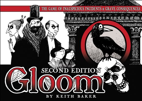 Atlas Games ATG01350 - Gloom, 2nd Edition Kartenspiel