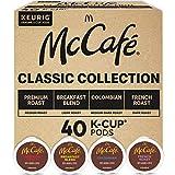 Keurig McCafé Classic Collection, Single Serve Coffee Keurig K-Cup Pods, Classic Collection Variety Pack, 40 Count