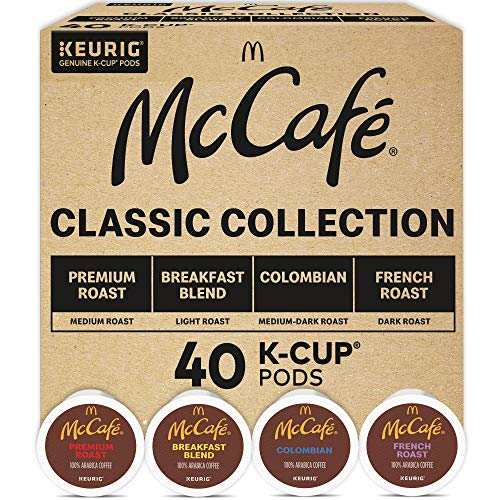 Keurig McCafé Classic Collection, Single Serve...