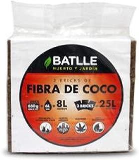 Sustrato de fibra de coco 8 L, 2 ud: Amazon.es: Jardín