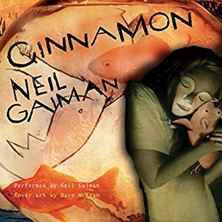 Cinnamon audiobook cover art