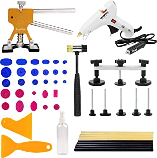 LucaSng Dent Puller Kit,Paintless Dent Repair Tools Set for Car Body-51 PCS