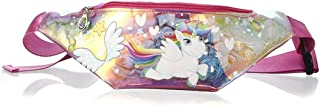 Girls Waist Pack Holographic Clear Fanny Pack Cute Small Causal Bag with Belt