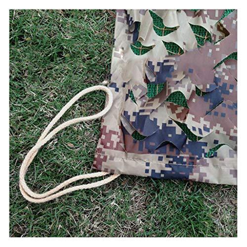 JJWZW Camouflage Netz Tarnnetz 2x3m Outdoor-Moskito-Zelt-Baumhaus-Deko-Netz Eignet Sich für Kinder-Spiele Multi-Size Und Multi-Color für schattenspendende Gärten im Freien (Color : G, Size : 1 * 2m)