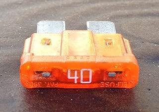 A Plus Parts House 40Amp ATC / ATO amp Auto Automotive Fuse (20pc)