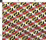 Maryland Flagge, Flaggen, Girlande, Bundesland Stoffe -