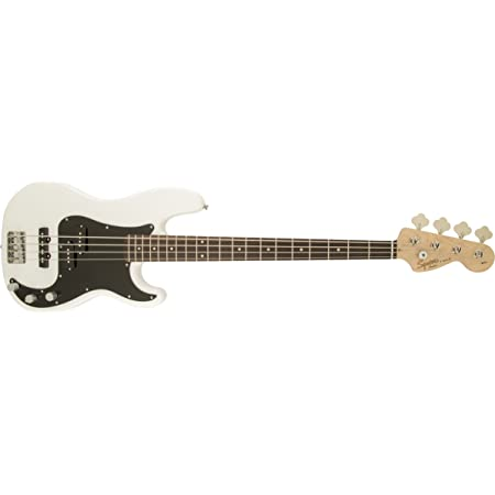 Squier by Fender Affinity Series Precision Beginner Electric Bass - PJ - Olympic White