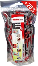 Fischer Big Pack Duopower 8x40 mm 120 pz Grijs Rood