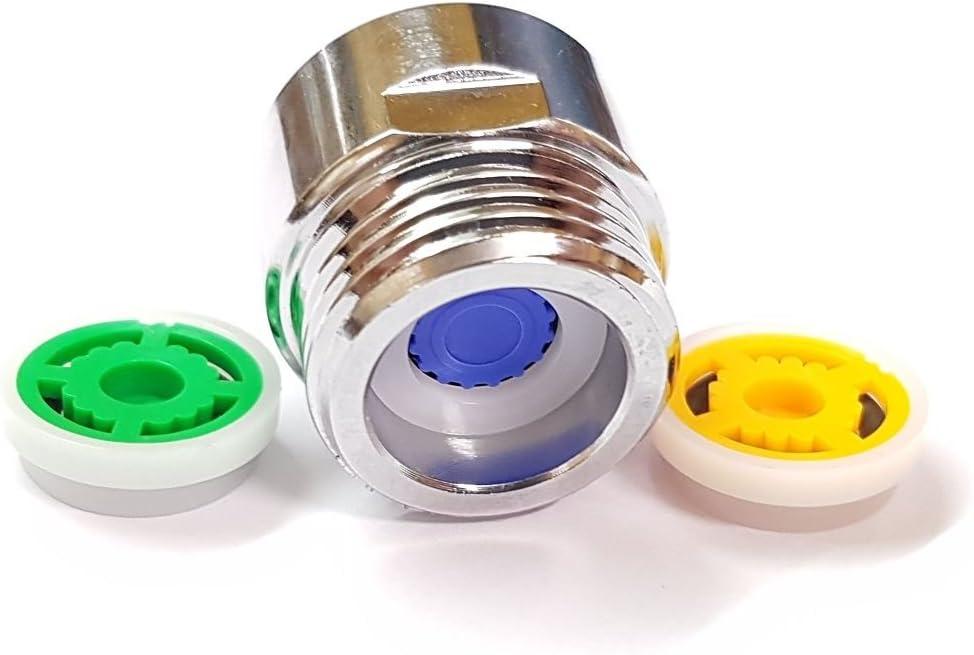 Ducha limitador reductor de flujo set - hasta 70% de ahorro de agua 4 l/min