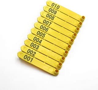 Pince pour /étiquette doreille pince pour /étiquette doreille pour animal de b/étail avec /épingle de rechange pour linstallation d/étiquettes doreille pour moutons de bovins de porcs outil d/élevag