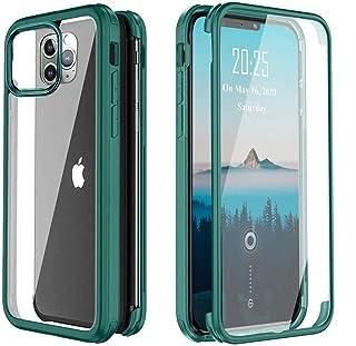 XCYYOO Coque Compatible avec iPhone 11 Pro Max,360 degrés Coque Complète Antichoc de Protection Intégrale Hybride avec Pro...