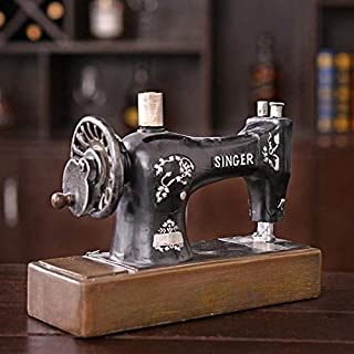 Yadianna Decorations Art Craft Child Money Bank Money Sewing Machine