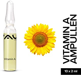 RAU Vitamin A Ampoules 10 x 2 ml - Liquid Vitamin A for the Skin
