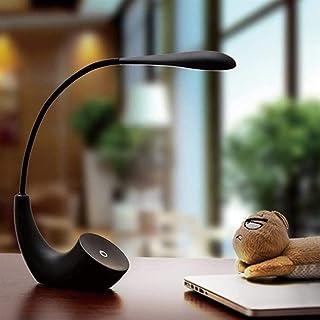 Lampe de Table Lampe de Bureau LED au Design créatif, intéressant et Minimaliste avec Corps Flexible à 360 degrés, Port de...