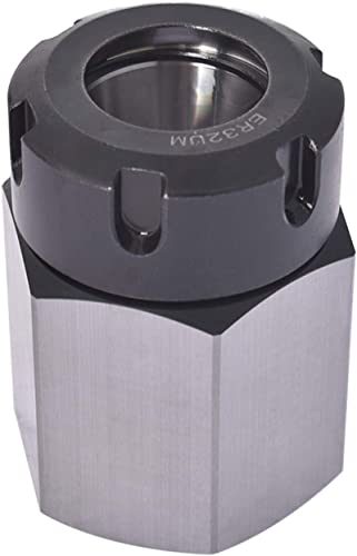 popular findmall lowest ER32 Hex Collet Block Chuck Holder for CNC Lathe Engraving 2021 Machine outlet online sale