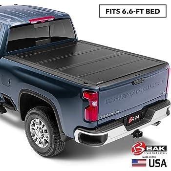 Amazon Com Bak Bakflip G2 Hard Folding Truck Bed Tonneau Cover 226121 Fits 2014 2018 19 Ltd Legacy Gm Silverado Sierra Limited Legacy 2014 1500 15 19 All 6 7 Bed 78 9 Automotive