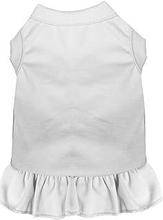 فستان بدون زخرفة للحيوانات الأليفة من ميراج بت برودكتس، مقاس كبير جداً، لون أبيض