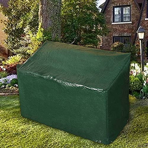 Ram® Heavy Duty 3 Seater Waterproof Outdoor Garden Bench Cover with Corner Eyelets and Securing Ropes – Suitable for Benches up to 160cm (Bench Cover)