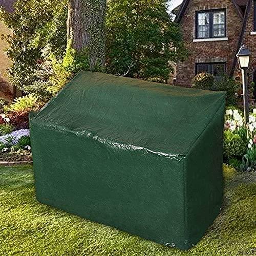Ram®, copertura per panca da giardino resistente a 3 posti, impermeabile, con occhielli angolari e corde di fissaggio, adatto per panchine fino a 160 cm (copertura per panche)