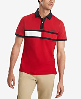 Men's Flag Pride Polo Shirts in Customs-Fit