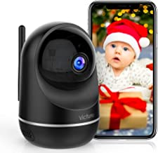 Victure 1080P Pet Camera, Dual Band 2.4/5Ghz , Indoor Security Camera with Two-Way Audio, Motion Detection, Night Vision f...