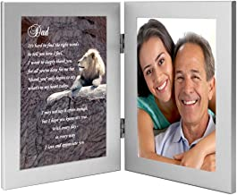 Dad Gift from Daughter or Son, Sweet Poem in Frame, Add Photo
