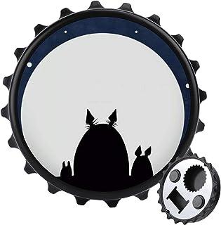 Moon flasköppnare ett lock flerfunktionell ölflasköppnare, möbler kylskåp dekoration klistermärke