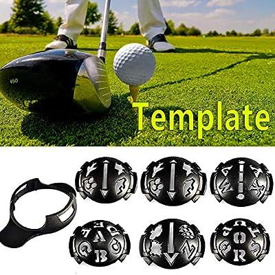 Miyaer Golf Marker Golfball