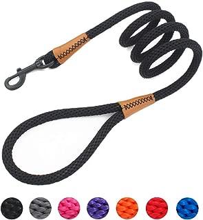 Best black rope dog leash Reviews