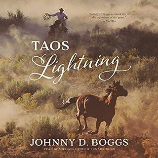 Taos Lightning audiobook cover art