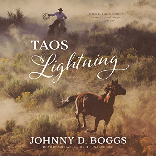 Taos Lightning audiobook cover art