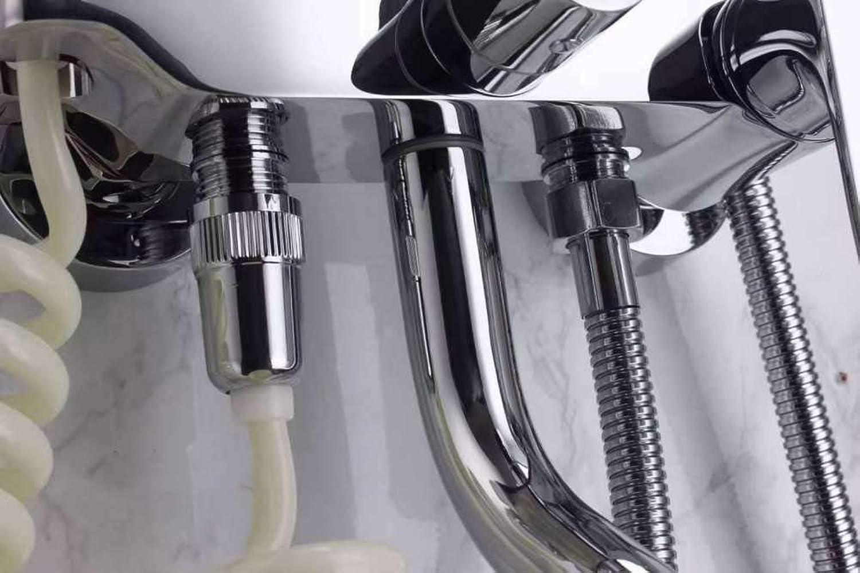 Duschset für Kupfer-Bad-Dusche-Set für Multi-Funktions-Handbrause Dusche Wand-Handbrause montiert