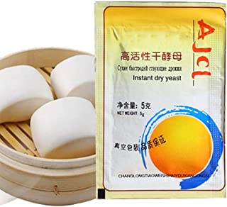 ZABB 10Pcs/20Pcs/30Pcs/50Pcs Bread Yeast-Highly Active Instant Yeast, High Sugar Resistant Bun Buns, Baking Powder