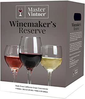 Cabernet Sauvignon Kit - Master Vintner Winemaker's Reserve Wine Making Recipe Kits - Ingredients for making 6 gallons of Homemade Wine