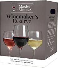 Master Vintner Winemaker's Reserve White Zinfandel Wine Recipe Kit Makes 6 Gallons