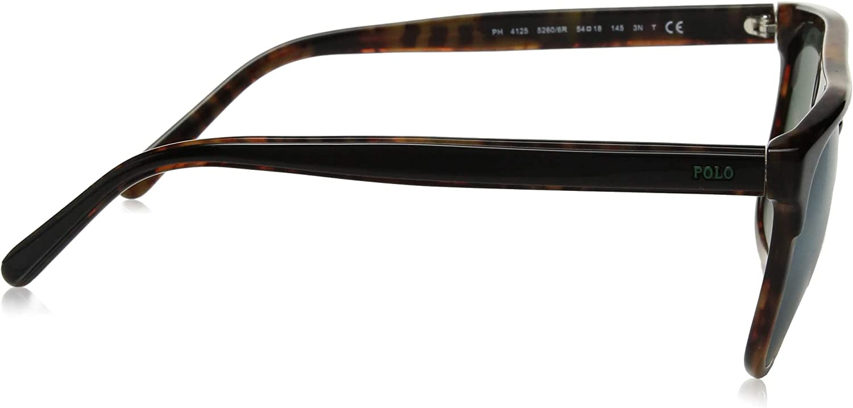 Polo Ralph Lauren Men's Ph4125 Square Sunglasses