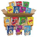 Kellogg's Breakfast Cereal, Variety Pack, Kids Breakfast, Assortment Varies, Single Serve (48 Boxes)