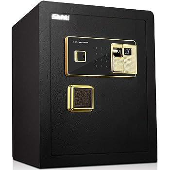 Caja Fuerte de Seguridad,36x32x45cm Reconocimiento de Huellas ...