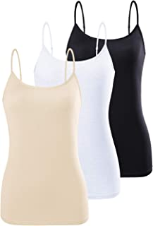 Adjustable Camisole for Women Spaghetti Strap Tank Top Camisoles