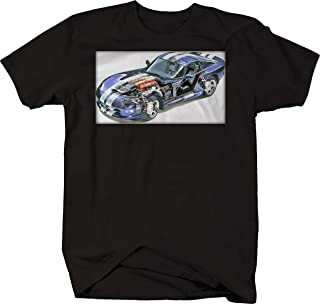 Hotrod Viper Breakout RT/10 Racing Performance Racing Graphic T Shirt for Men