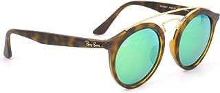 【レイバン国内正規品販売認定店】RB4256F 60923R 47サイズ Ray-Ban (レイバン) サングラス GATSBY I ギャッツビー フルフィット ラウンド 丸メガネ ミラー メンズ レディース