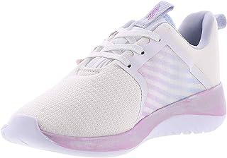 حذاء المشي أفيا للسيدات, (White/Halogen Blue/Orchid), 39 EU
