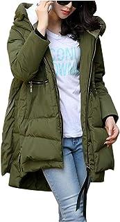 HINK Blusa de Mujer, Abrigos de Mujer Abrigo de algodón Grueso Ropa de Mujer de Gran tamaño Ropa de Abrigo, para Navidad