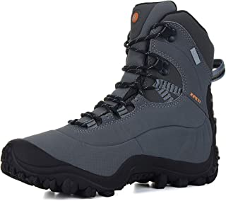 Men's Thermator Mid-Rise Waterproof Hiking Trekking Insulated Outdoor Boots