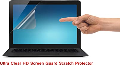 Saco Ultra Clear Glossy HD Screen Guard Scratch Protector for Micromax 2 in 1 Canvas Laptab (LT666W) 10.1 inch Laptop