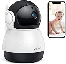 Victure 1080P WiFi Pet Camera FHD Indoor Surveillance Security IP Camera with Motion Detection Night Vision 2-Way Audio Cloud Storage for Baby/Elder/Pet Monitor with Camera