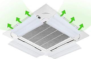 JJSFJH Aire Acondicionado Deflector de Viento Aire Acondicionado centralizado Aire Acondicionado Anti-soplado Directo Protector Deflector de Aire Acondicionado Deflector de Aire frío (Size : 40CM)